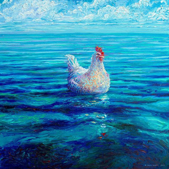 , 'Chicken Of The Sea AP,' 2017, Adelman Fine Art