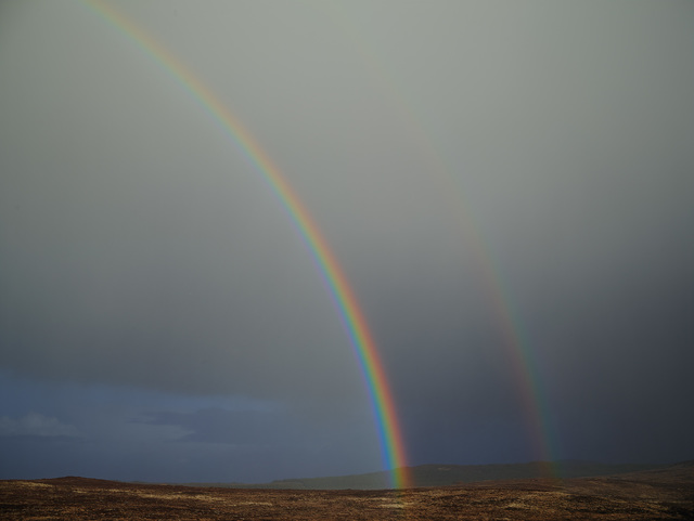 , 'Double Rainbow, Donegal, Ireland,' 2013, carlier | gebauer