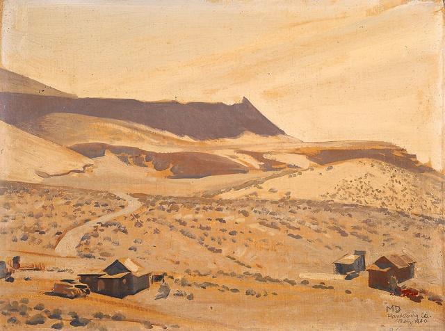 , 'Randsburg,' 1940, Blanton Museum of Art