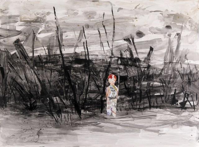 , 'Footing to a New Land III - Yeni Bir Ülkeye Ayak Basmak III,' 2018, Anna Laudel