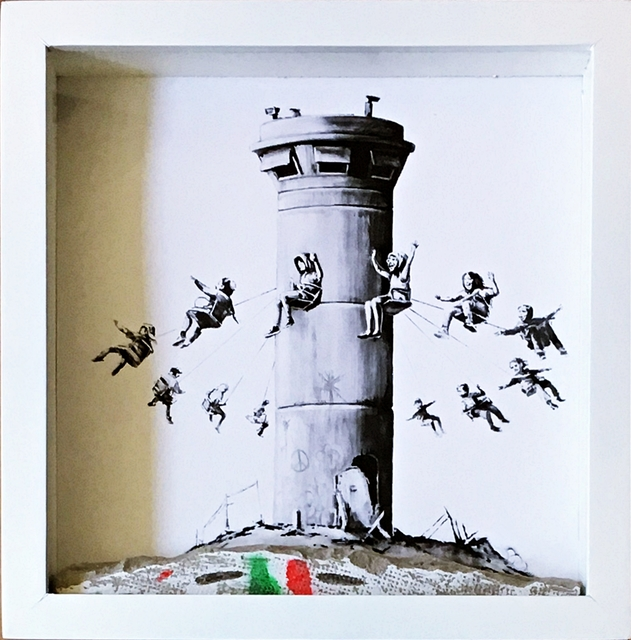 Banksy, 'Walled Off Hotel Boxed Set Assemblage (Sold)', 2017, Alpha 137 Gallery