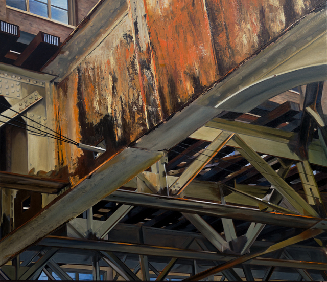 , 'Old Rust on the Brown Line,' 2016, Nicole Longnecker Gallery