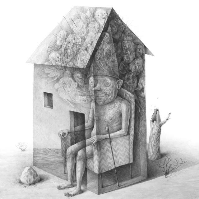 , 'house in the desert,' 2019, Galerie Gans