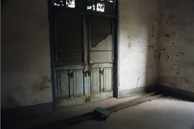 , '28_Still life in an empty room with stool,' 2011, Art Vietnam Gallery