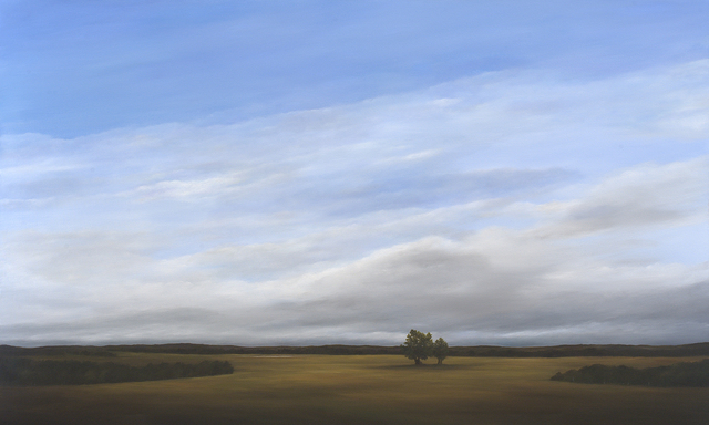 , 'Moving Clouds, Looking West,' 2016, Duane Reed Gallery
