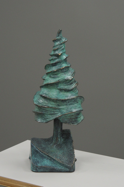 , 'Cedar Tree (Green),' 2017, Caldwell Snyder Gallery