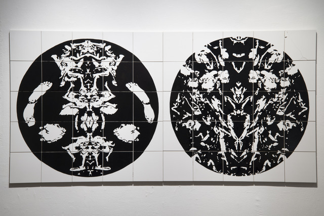 , 'Decomposition No. 1 and 2 (diptych),' 2012, Ronald Feldman Gallery