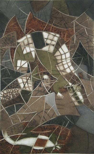 , 'La Iguana from Chilam Balam,' 1975, Stern Fine Art