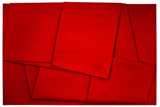 , 'Sul rosso piegato,' 2011, Lattuada Studio