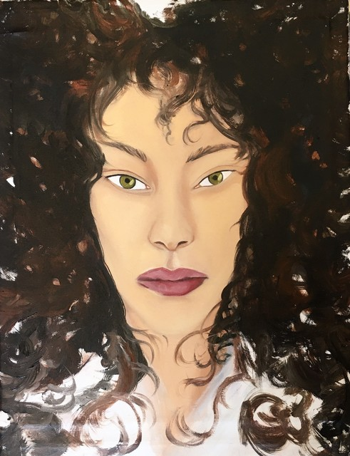 Apolonia Sokol, 'MARINE', 2020, Painting, Oil on linen, THE PILL®