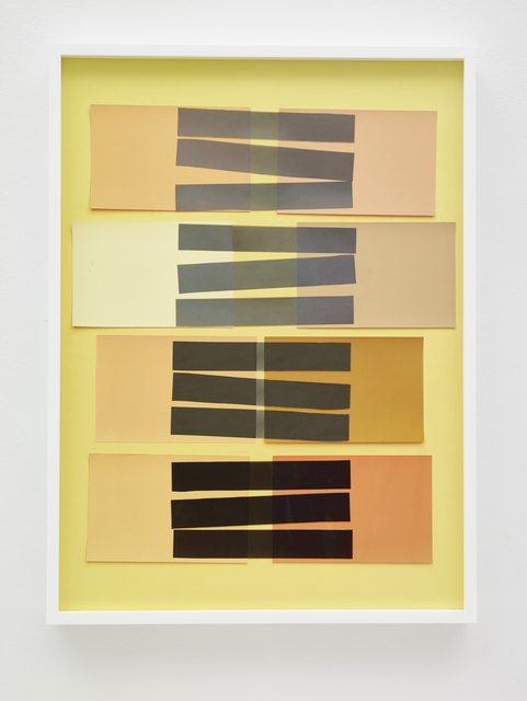 , 'Handmade: Interaction of Color 24 (Rectangles, Black Stripes),' 2017, Galeria Nara Roesler