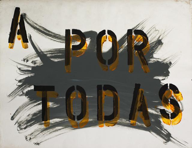 , 'Untitled (A por todas),' 2007, Cosmocosa