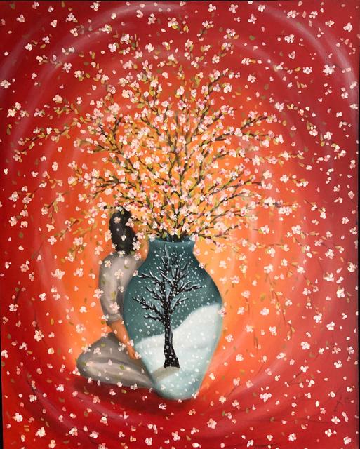 Wonsook Kim, 'Winter Tree in Spring', 2015, Georges Berges Gallery