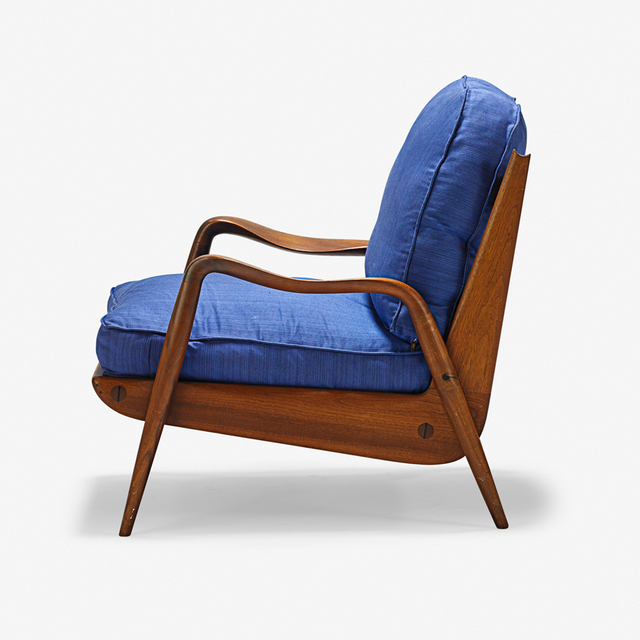 Phil Powell, 'New Hope lounge chair, New Hope, PA', 1960s, Rago