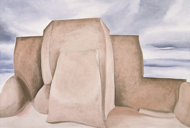, 'Ranchos Church, New Mexico,' 1930-1931, Tate Modern