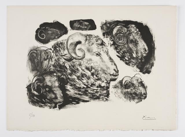 , 'Têtes de Béliers,' 1945, Frederick Mulder