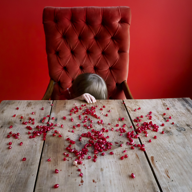 , 'Scout & the Pomegranate Seeds,' 2012, photo-eye Gallery