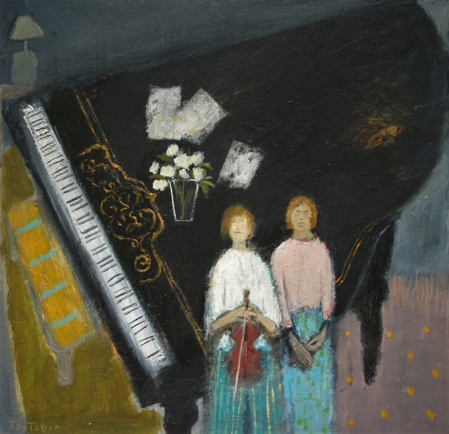 , 'The grand piano ,' 2017, Castlegate House Gallery