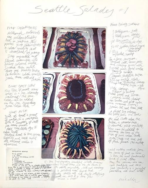 Antoni Miralda, 'Recipe #1', 1975, Henrique Faria Fine Art