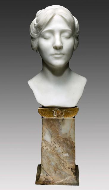 , 'Portrait of Evelyn Beatrice Longman,' 1904, Davis Museum