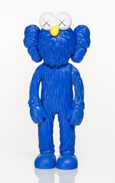 KAWS, 'BFF (MoMa)', 2017, Sculpture, Painted cast vinyl, Heritage Auctions