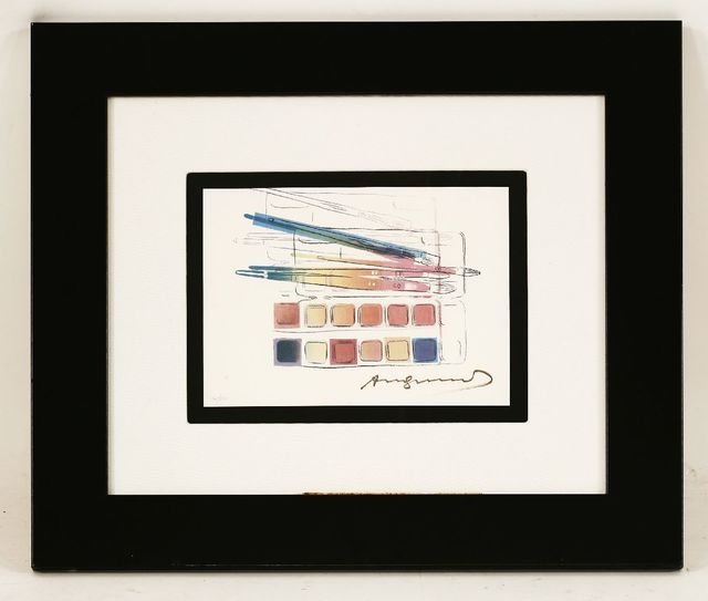 Andy Warhol, 'Watercolor Paint Kit With Brushes (Feldman & Schellmann II.288)', 1984, Print, Offset lithograph printed in colours, Sworders