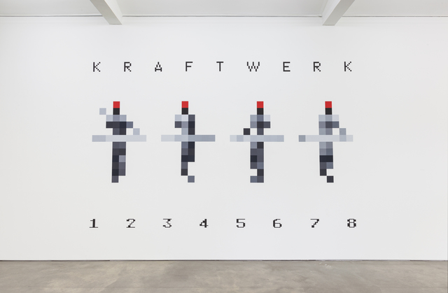 Kraftwerk, '3-D Video-Installation – 1 2 3 4 5 6 7 8, Installation View Sprüth Magers Berlin', 2013, Video/Film/Animation, Sprüth Magers