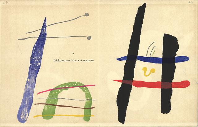 Joan Miró, 'A Toute Epreuve', 1958, ArtWise