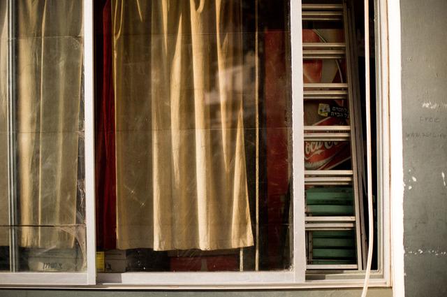 , 'Curtain in Window,' 2016, ROSEGALLERY