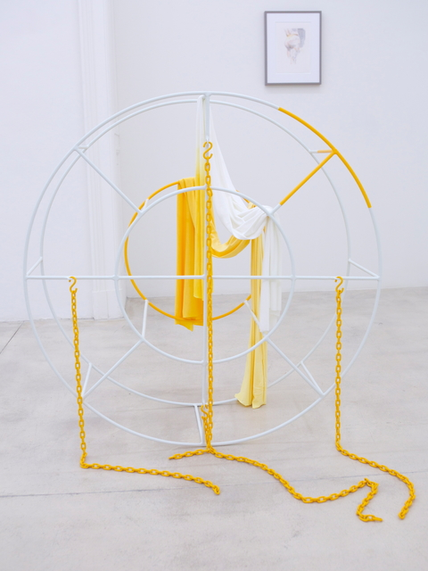 , 'Physical lines of force - 1860s,' 2016, Galerie Krinzinger