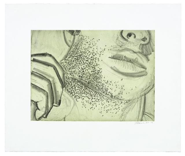 Bruce Nauman, 'Soft Ground Etching - Green', 2007, Magenta Plains