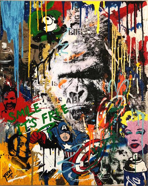 Yuvi, 'Smile It's Free', 2018, Dan Gallery