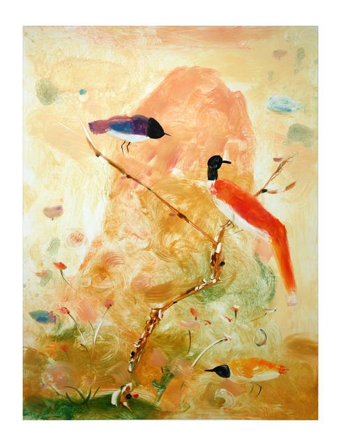 , 'Adagio Mountain Birds,' 2013, Tandem Press