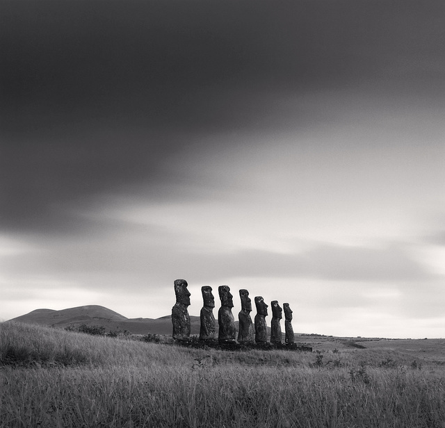 , 'Moai, Study 49, Ahu Akivi, Easter Island,' 2001, photo-eye Gallery