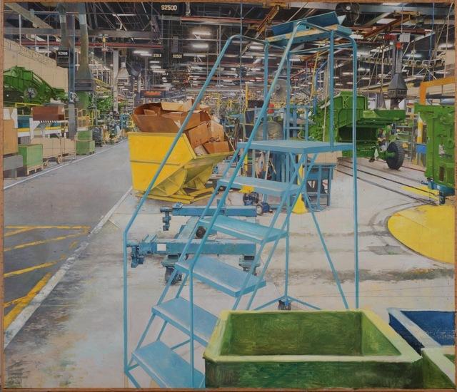 , 'JOHN DEERE HARVESTER WORKS, EAST MOLINE IL,' , Gallery NAGA