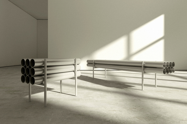 , 'Long Bench,' 2016, Giovanni Beltran