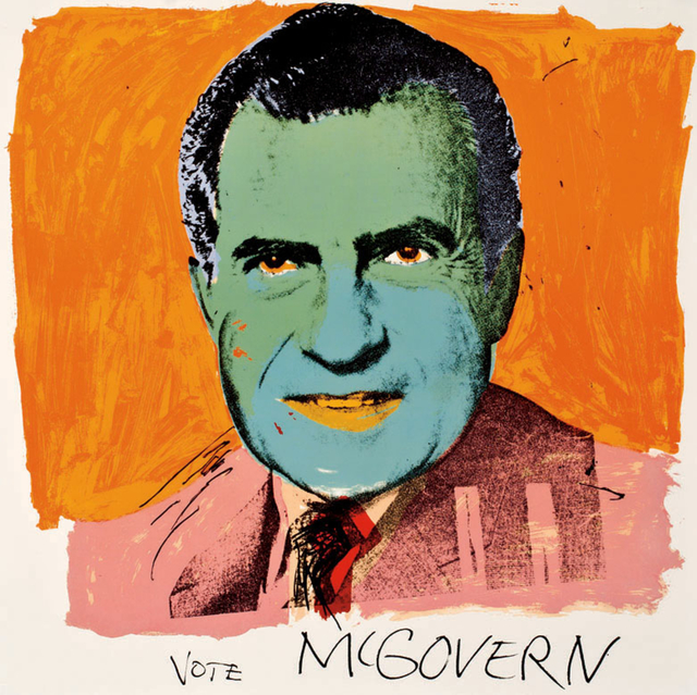 Andy Warhol, 'Vote McGovern 84', 1972, Revolver Gallery