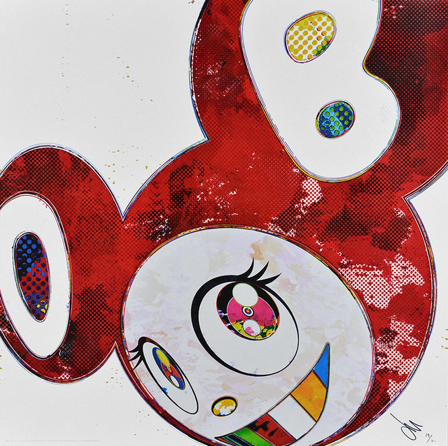 Takashi Murakami, 'And Then x 6 (Vermillion: The Superflat Method)', 2013, Dope! Gallery