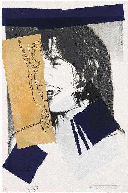 Andy Warhol, 'Mick Jagger (FS II.142)', 1975, Revolver Gallery