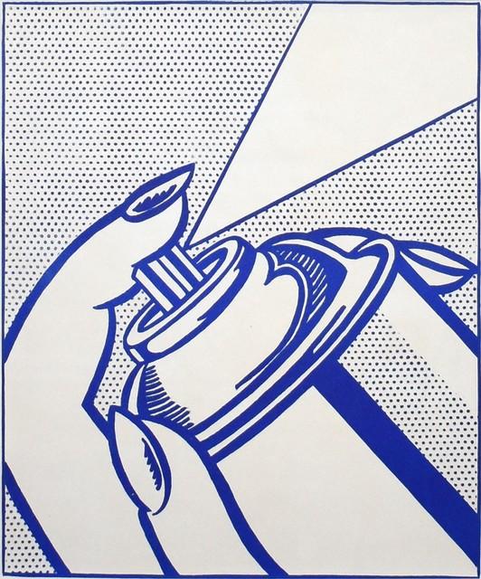 Roy Lichtenstein, 'Spray Can', 1963, Georgetown Frame Shoppe