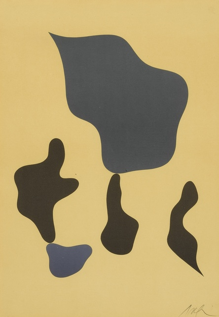 Hans Arp, 'Composition mit fünf Formen; and Compositon (Arntz 358 & 362)', 1964 and 1966, Sotheby's