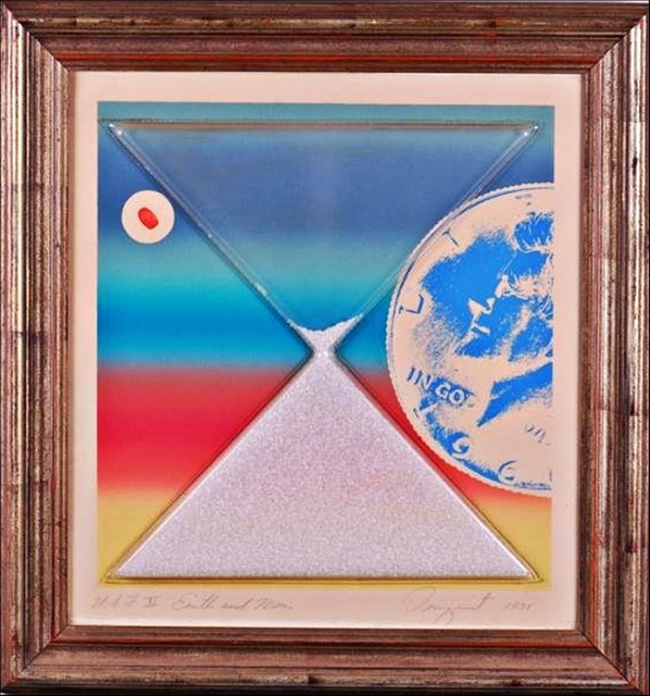James Rosenquist, 'Earth & Moon (from Cold Light Series) ', 1971, Alpha 137 Gallery