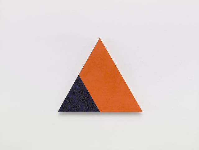 , 'Angles (Orange and Blue),' 2001, Sandra Gering Inc