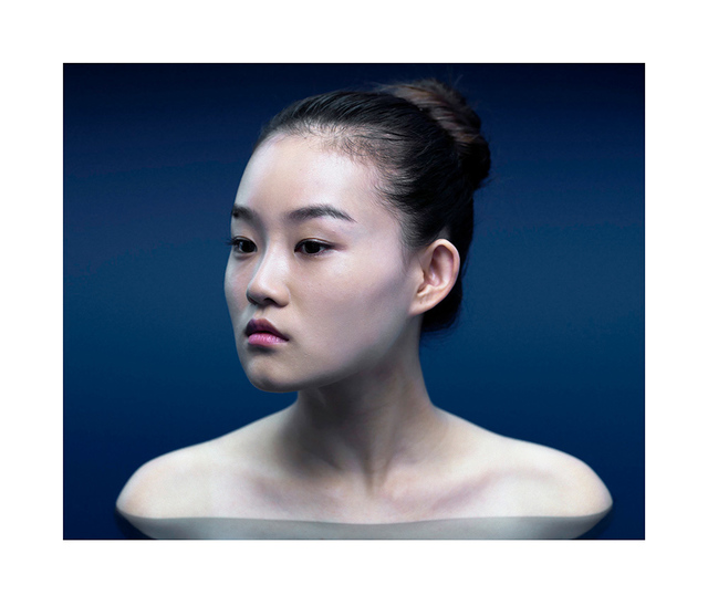 , 'Chinese Pool Portrait (3204 QiaoQi),' 2007, Walter Storms Galerie