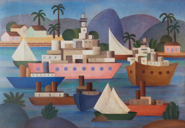 , 'Tapestry Tarsila do Amaral - O Porto,' 2016, By Kamy