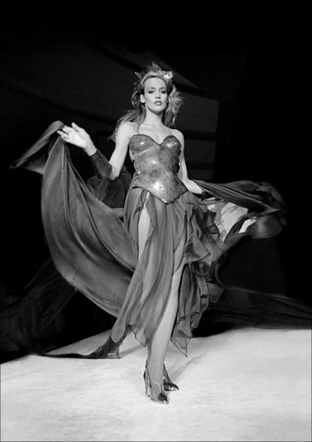 , 'Jerry Hall models Thierry Mugler at Bond's disco,' 1980, Madelyn Jordon Fine Art