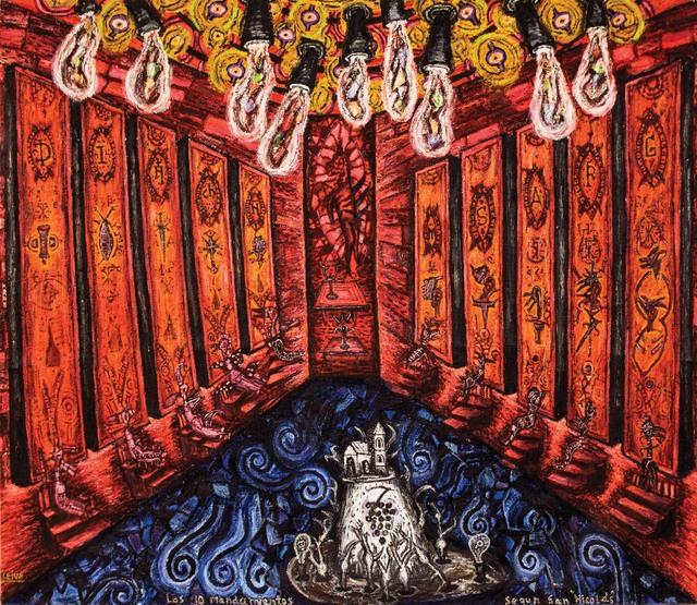 , 'Los diez mandamientos según San Nicolás,' , Gary Nader
