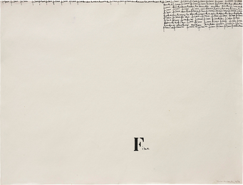 Mira Schendel, 'Untitled,' 1964, Phillips: 20th Century and Contemporary Art Day Sale (November 2016)