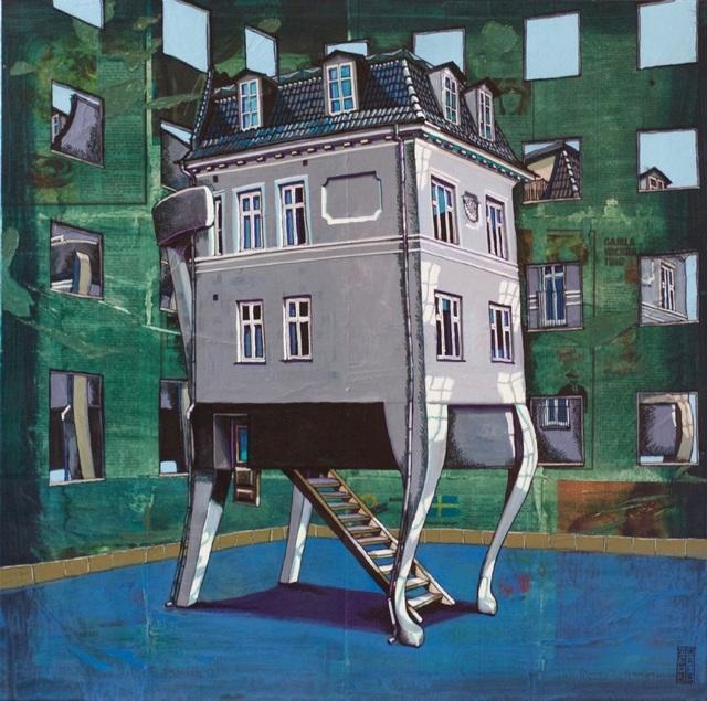 , 'Stol-huset,' 2018, GALLERI RAMFJORD