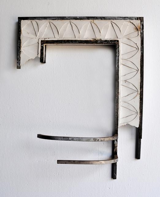 Juan Garaizabal, 'Broken Miami's Façade I', 2016, Sculpture, Steel and white concrete, Bogena Galerie